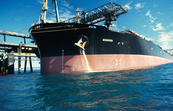 Discharging ballast water