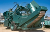 Patterson grape harvester