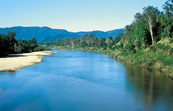 Herbert River, view from the Abergowrie Bridge. Abergowrie, ... [ID:4562]
