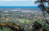 Southern suburbs of Adelaide viewed from the Windy Point Loo... [ID:4514]