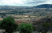 Landscape from York lookout, Avon Valley, WA. 1981.