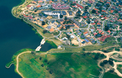 Aerial view of new housing developments in the Canberra subu... [ID:4524]