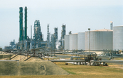 BP oil refinery complex at Kwinana, WA. 1992.
