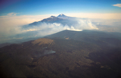 Forest fires on the slopes of Mount Ixtaccihuatl, Mexico. [ID:5599]