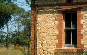 Abandoned farmhouse near Pinnaroo, SA. 1993.