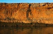 Cliffs on the River Murray [ID:6605]