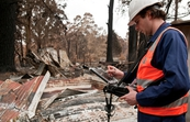 Conducting bushfire research at Kinglake after the 'Black Saturday' bushfires