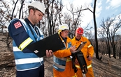 Conducting bushfire research at Strathewen after the 'Black ... [ID:10651]