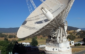 The 70 metre antenna (DSS 43) at the Canberra Deep Space Communication Complex