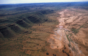 Aerial view of Central Australian Landscape. [ID:1215]