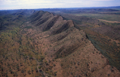 Aerial view of Central Australian Landscape. [ID:1218]