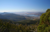 Derwent River valley, looking from Mt Wellington towards Gle... [ID:3407]