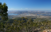 Derwent River valley, looking from Mt Wellington towards Gle... [ID:3101]