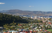 Hobart City and the Tasman Bridge, Tasmania [ID:3408]