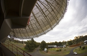 The CSIRO Parkes radio telescope in operation [ID:3943]