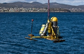 A Fleck unit being deployed in the Derwent River [ID:7308]