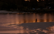 Fishing at sunset – Tallebudgera, Queensland [ID:8047]