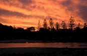 Sunset  – Tallebudgera, Queensland [ID:8048]