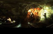 A panoramic image inside the Jenolan Caves [ID:2301]