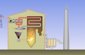 Conventional coal-fired power station