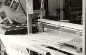 CSIRO weaving loom at a trade show
