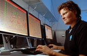 Dr Valerie Sage working at SynCat, CSIRO's Synfuel and Catalysis Research Facility