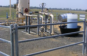 A coal seam gas well