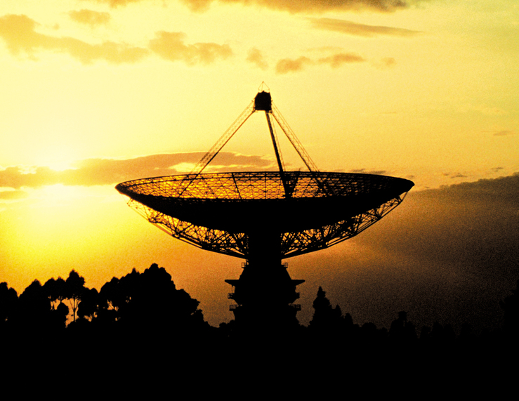 Sunset at The Dish