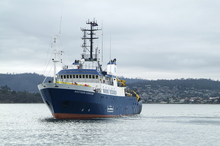 CSIRO Hobart - Southern Surveyor