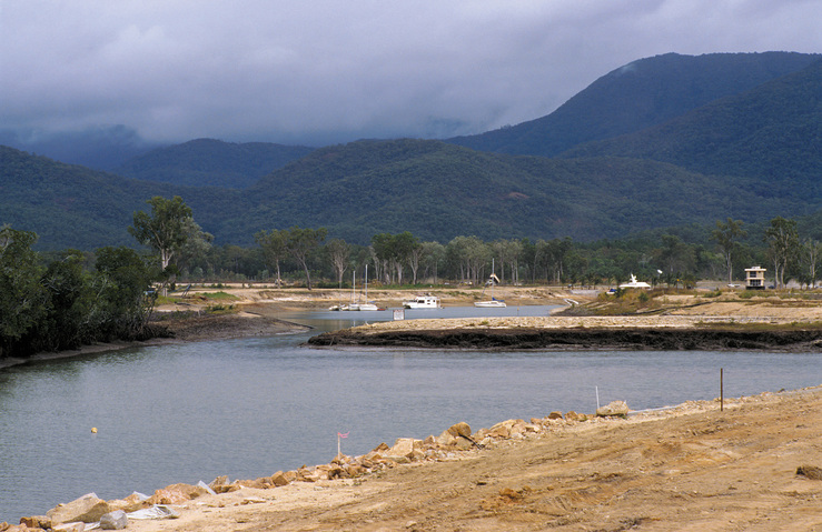 Earthworks at Port Hinchinbrook Resort Marina. Cardwell, QLD...