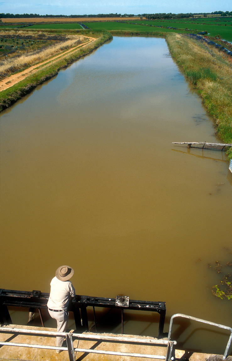 Irrigation channel