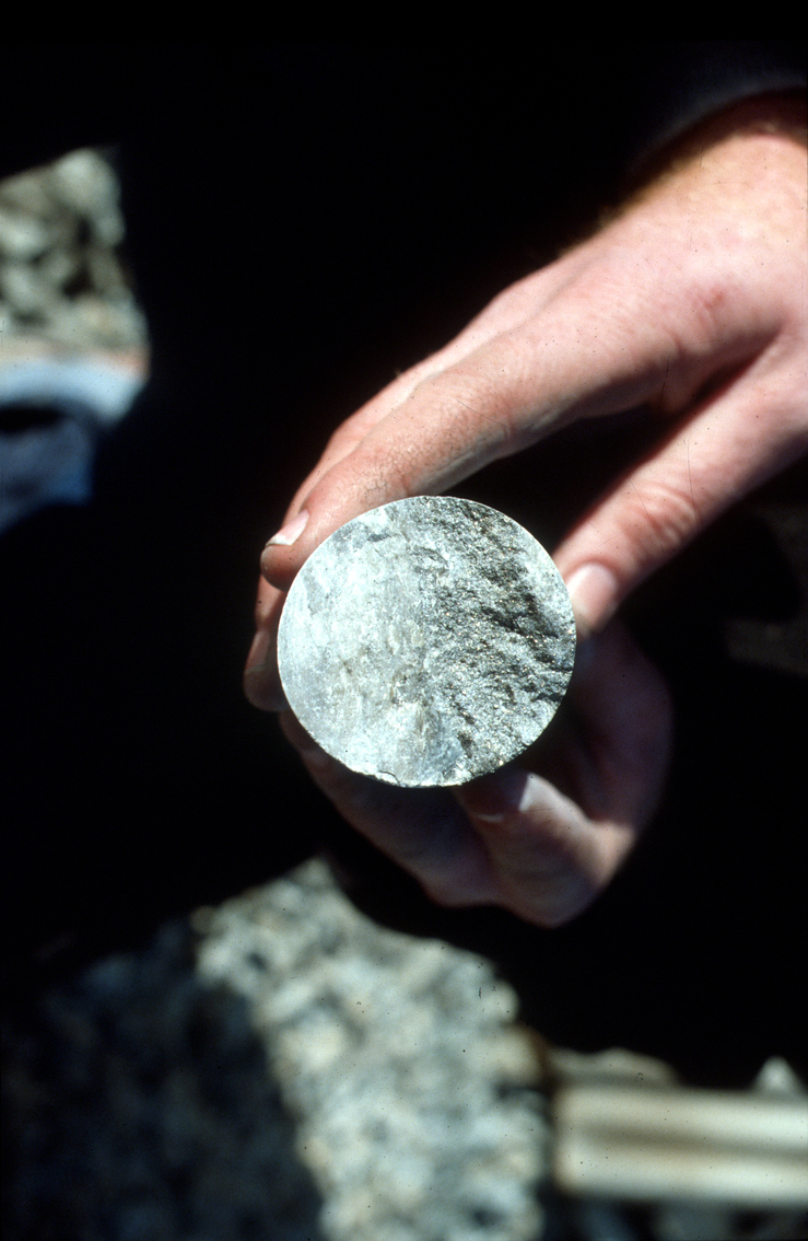 A Mine Core Sample