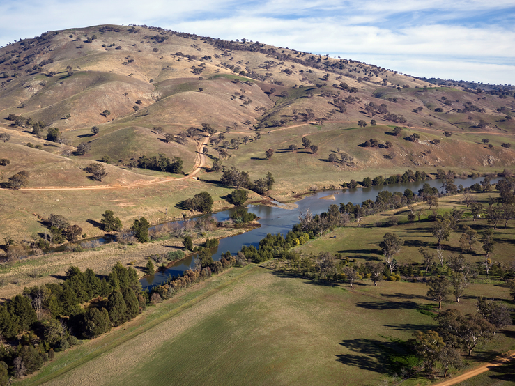 Farmland on the Murrumbidgee