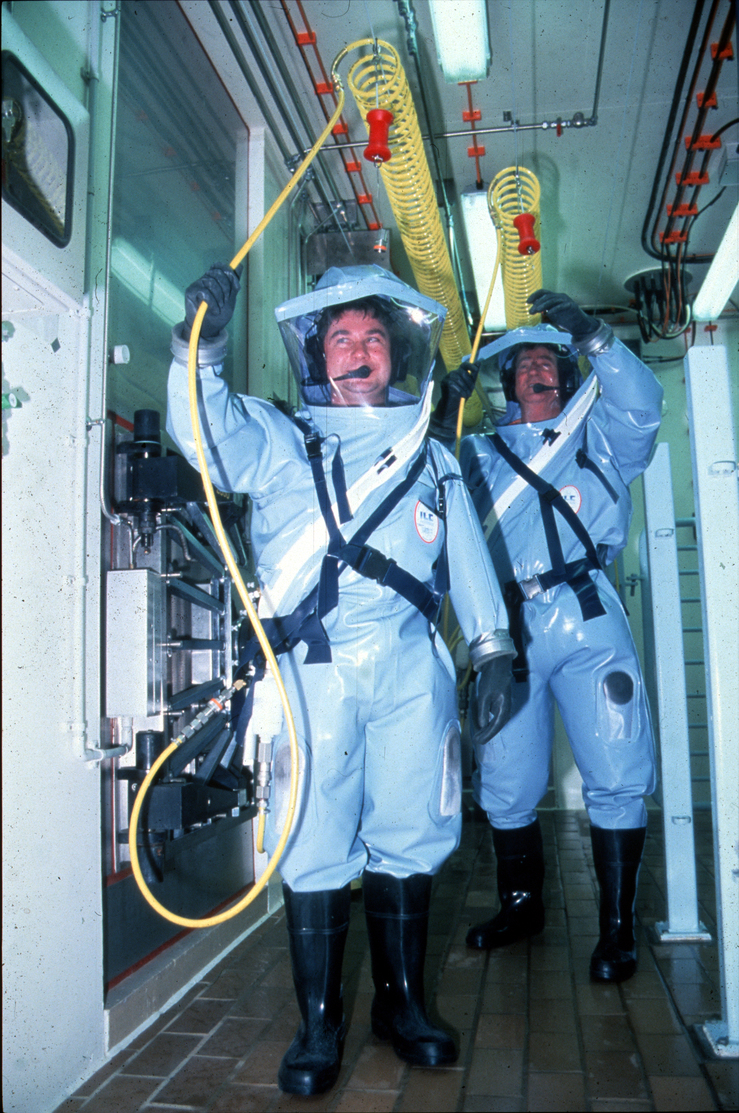 Protective Laboratory Suits