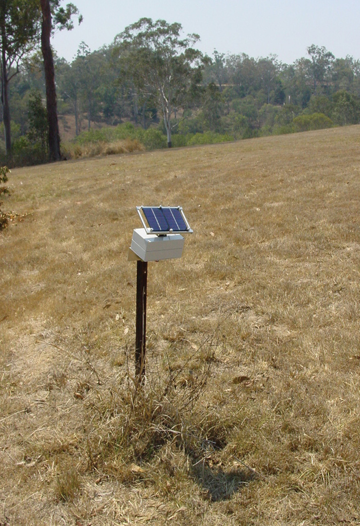 A remote sensing node – part of CSIRO's Fleck wireless...
