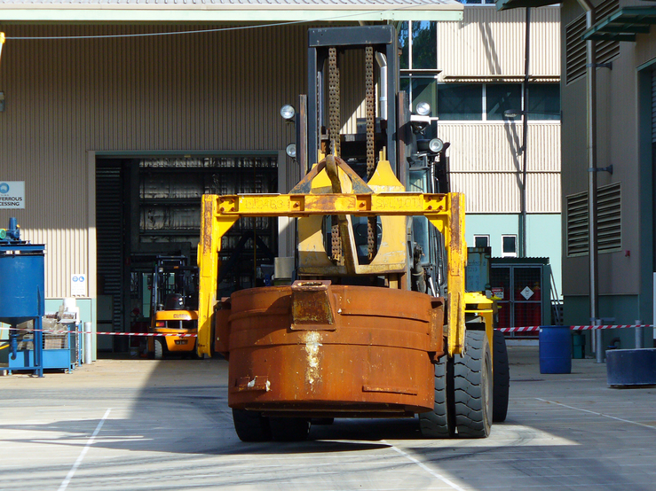 Autonomous metal carrier on trial at CSIRO in Brisbane