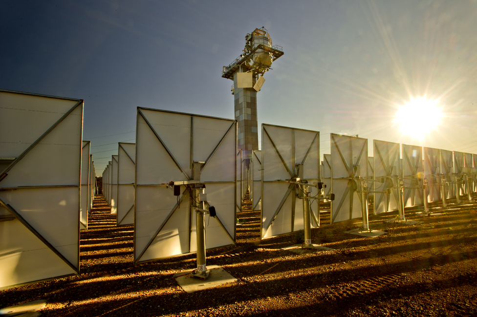 A Solar Panel at the CSIRO Energy Centre
