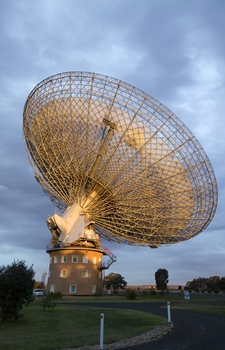 The CSIRO Parkes radio telescope