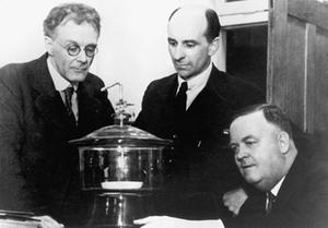 George Julius, David Rivett and Arnold Richardson