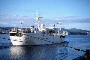 A Longline Fishing Boat