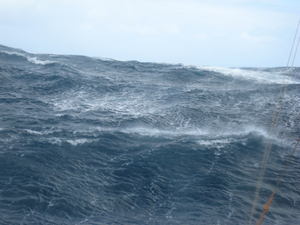 Wild weather aboard RV Southern Surveyor