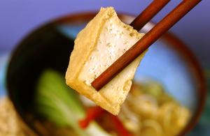 Tofu and soup