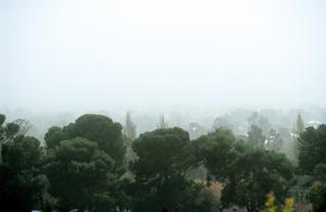 Dust storm over Adelaide, South Australia. 1992.