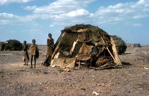 African village scene