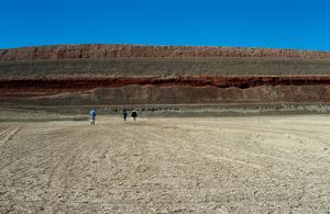 Bentonite mine at Arumpo near Mildura, Victoria. 1999.