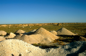 Opal fields at Coober Pedy, South Australia. 1992.