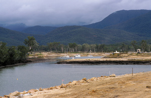 Earthworks at Port Hinchinbrook Resort Marina. Cardwell, QLD.