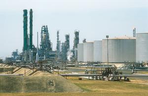 BP oil refinery complex at Kwinana, WA. 1992.