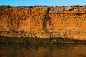 Cliffs on the River Murray