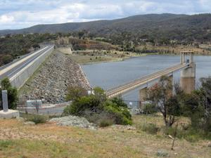 Googong Dam near Canberra